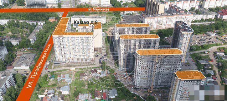 Продажа 1-к квартиры Профессора Камая ул, 8