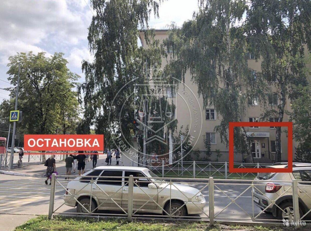 Продажа  помещения свободного назначения Александра Попова ул, 6/19