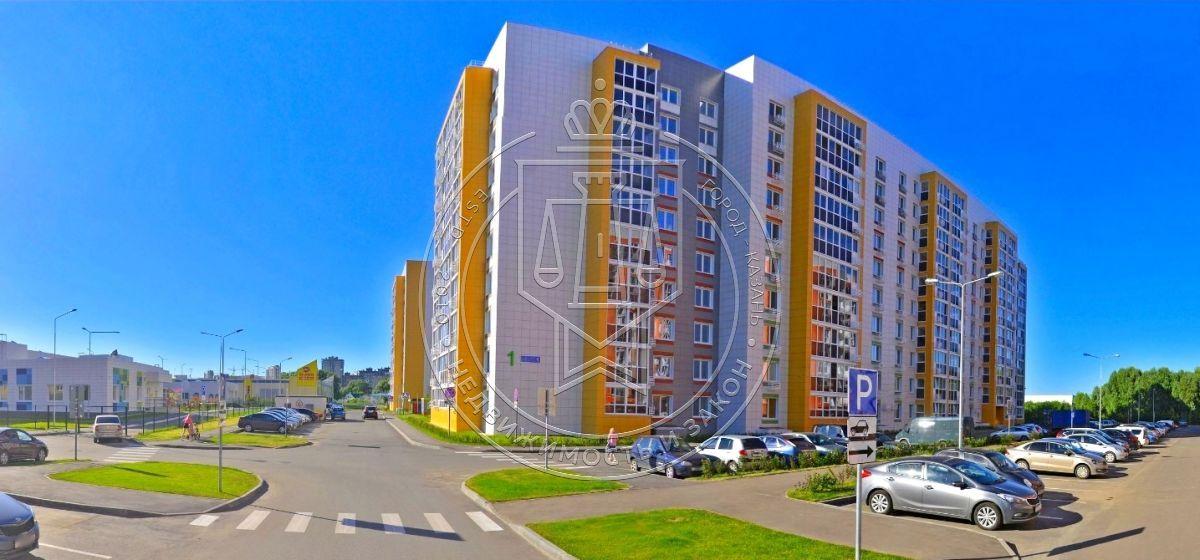 Продажа 2-к квартиры Фикрята Табеева ул, 1