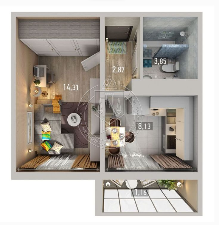 Продажа 1-к квартиры Натана Рахлина ул, 1-16-3