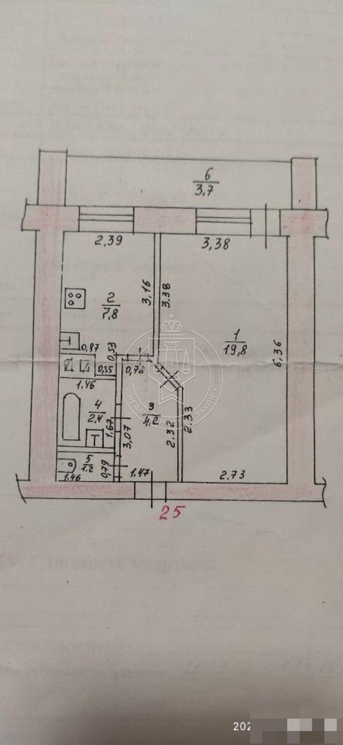Продажа 1-к квартиры Латышских Стрелков ул, 25
