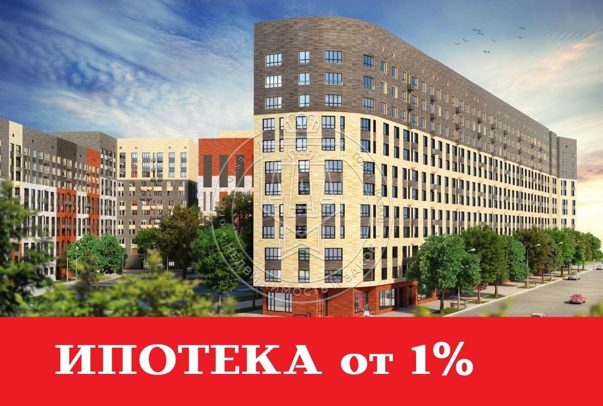 Продажа 2-к квартиры Баки Урманче ул, строительный 2